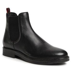 Kotníkové boty Gino Rossi MB-HAVR-01 Přírodní kůže (useň) - Lícová