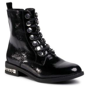 Šněrovací obuv DeeZee WS5168-01 Ekologická kůže /-Ekologická kůže