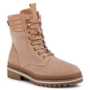 Šněrovací obuv DeeZee WS2886A-03 Textilní,Ekologická kůže