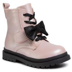 Šněrovací obuv Lasocki Kids CI12-POINT-02 Přírodní kůže (useň) - Lícová