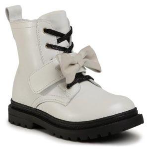 Šněrovací obuv Lasocki Kids CI12-POINT-02 Přírodní kůže - lícová