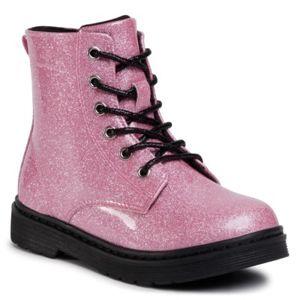 Šněrovací obuv Nelli Blu CMYF001-18 Ekologická kůže