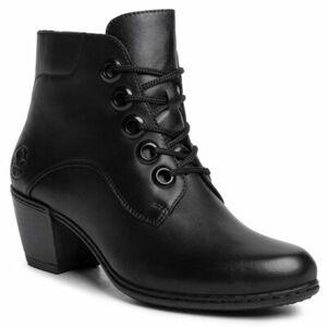 Šněrovací obuv Rieker Y2100-00 Přírodní kůže (useň) - Lícová