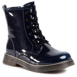 Šněrovací obuv Nelli Blu CS102607-12 Ekologická kůže