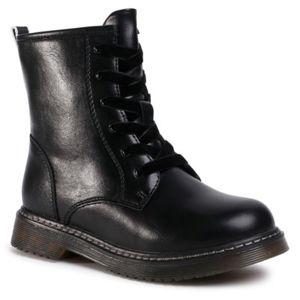Šněrovací obuv Nelli Blu CS102607-12 Ekologická kůže /-Ekologická kůže