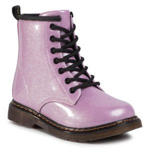 Šněrovací obuv Nelli Blu ES-K18970 Ekologická kůže /-Ekologická kůže