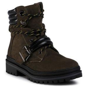 Šněrovací obuv Jenny Fairy WS2886-03 Textilní