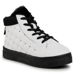 Šněrovací obuv Nelli Blu CSL19045-01 Textilní,Ekologická kůže