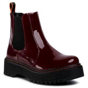 Kotníkové boty Jenny Fairy WSD1916-02 Ekologická kůže