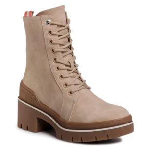 Šněrovací obuv Jenny Fairy WS5205-01 Ekologická kůže