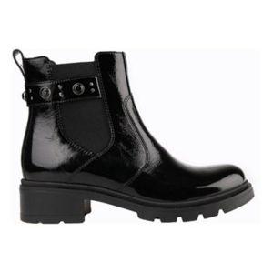 Kotníkové boty Lasocki DORIA-02 Přírodní kůže (useň) - Lícová