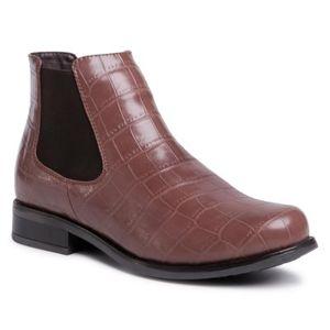 Kotníkové boty Jenny Fairy TTT-DESA-01 Ekologická kůže