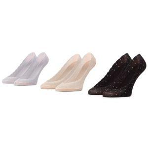 Ponožky ACCCESSORIES 1WB-011-SS21 r. 35-38 Spandex,Nylon,Bavlna