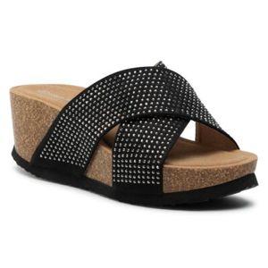 Pantofle Clara Barson WSB56-01 Látka/-Látka