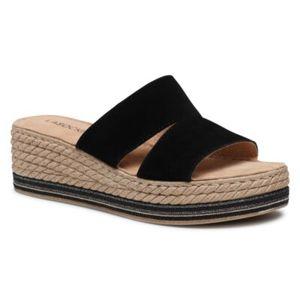 Pantofle Lasocki  Přírodní kůže (useň) - Semiš